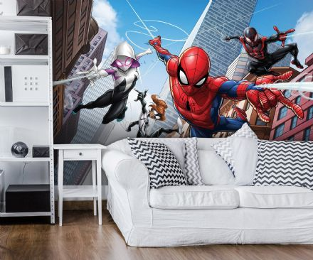 Spider-man wall mural Marvel  wallpaper